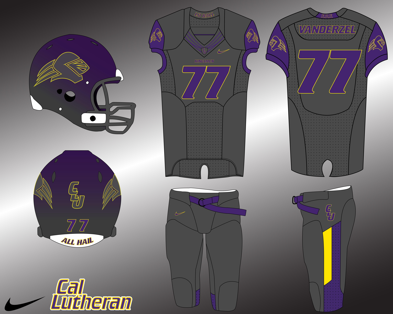 84d5cc3bd147 2014 Cal Lutheran Nike Pro Combat Uniforms